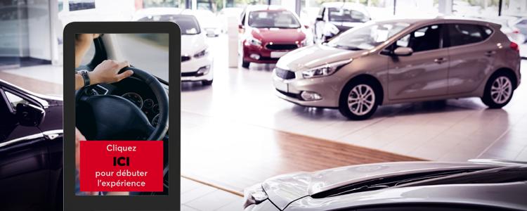 Bonifiez l'expérience de vos clients par la technologie : Domaine automobile