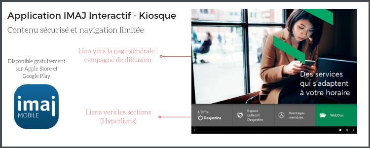 Projet d'écran tactile chez Desjardins : un plus pour l'expérience client !